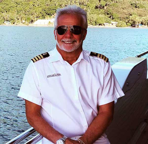 Image of Captain Lee Rosbach from the TV show, Below Deck
