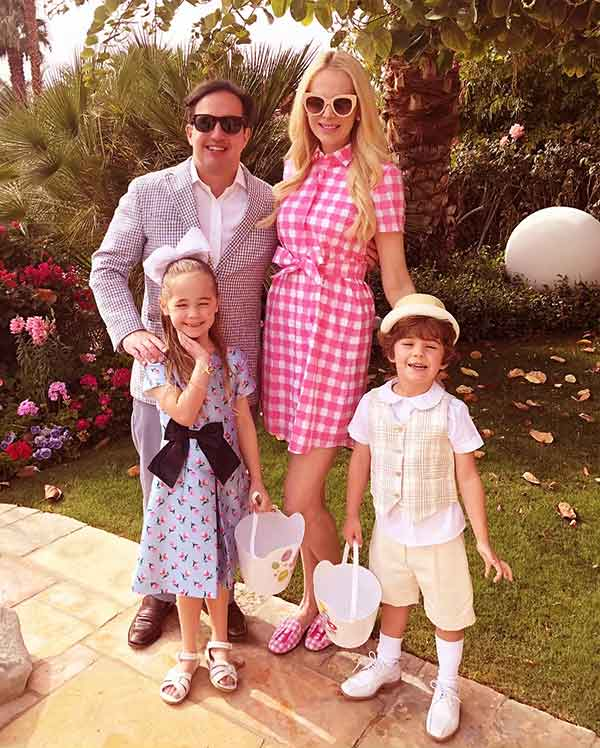 Image of Court Westcott with his wife Kameron Westcott and with their kids Cruise and Hilton Westcott