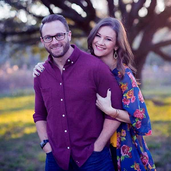 Image of Danielle Busby with her husband Adam Busby