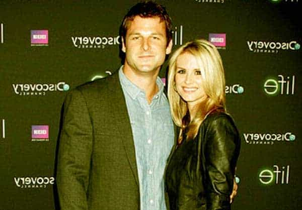 Image of Dave Salmoni with his girlfriend Bonnie Sommerville
