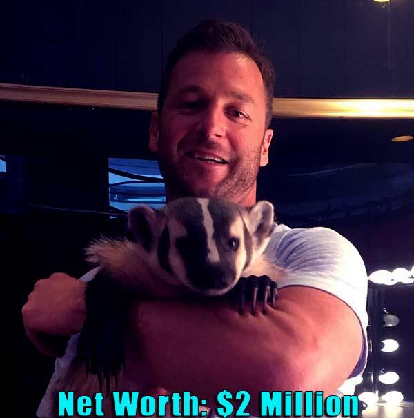 Image of Animal Trainer, Dave Salmoni net worth is $2 million