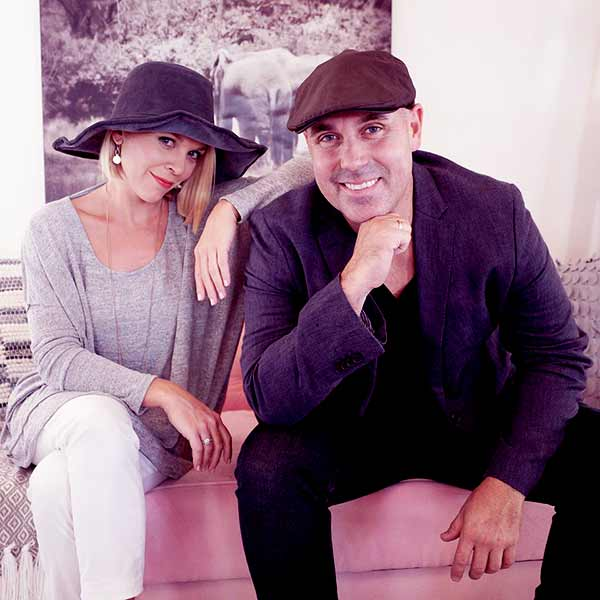 Image of Dave Wilson with his wife Kortney Wilson