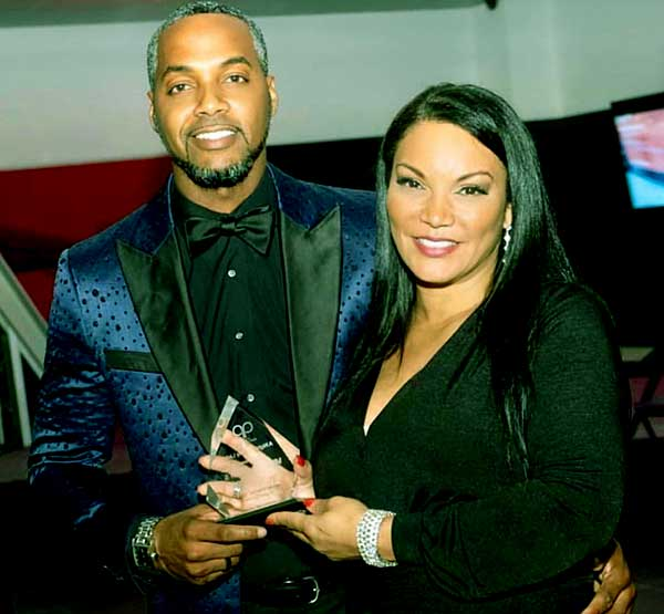 Image of Egypt Sherrod with her husband DJ Mike Jackson