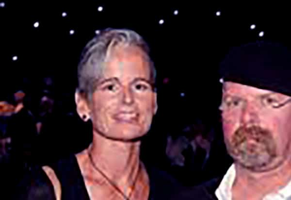 Image of Eileen Walsh with her husband Jamie Hyneman