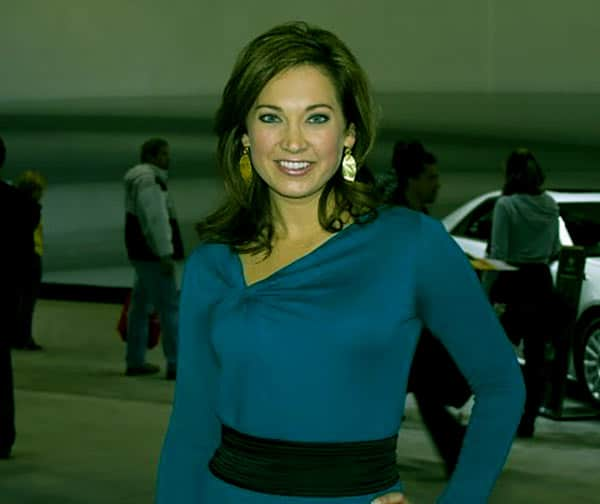 Image of Ginger Zee from TV show, Good Morning America Weekend,