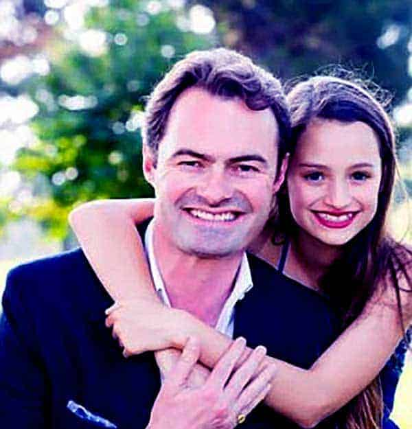 Image of James Maby with his daughter Lola Maby