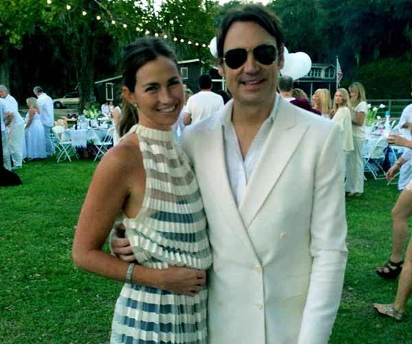 Image of James Maby with his ex-wife Landon Clements