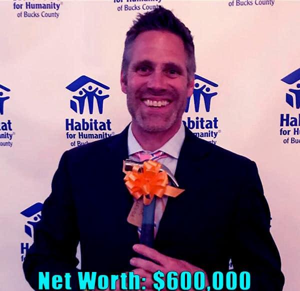 Image of TV actor, Jeff Devlin net worth is $600,000