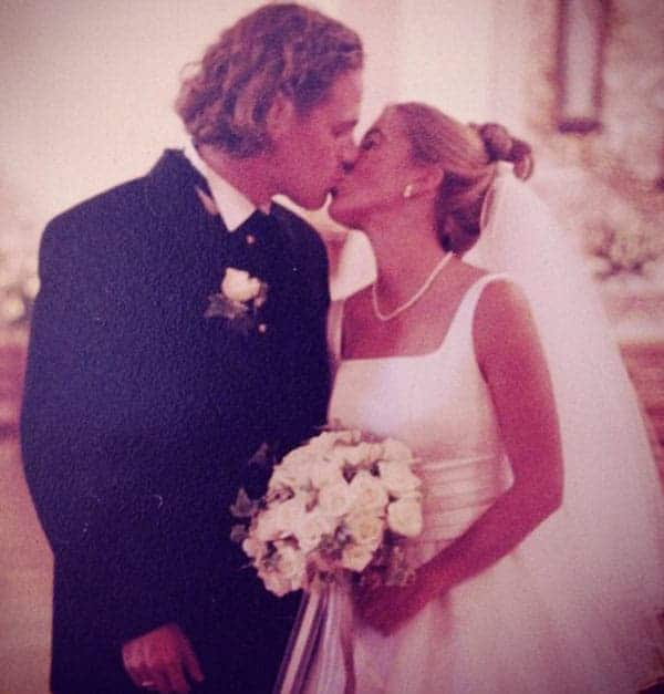 Image of Jeff Devlin with his wife Christine Devlin