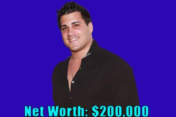Image of TV Reality star, Jionni LaValle net worth is $200,000