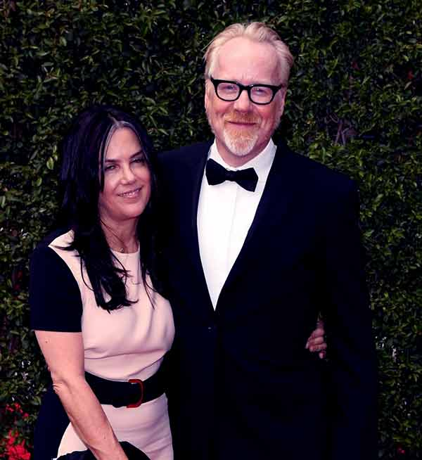 Image of Julia Savage with her husband Adam Savage