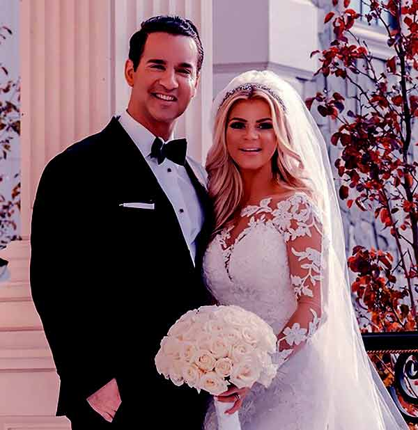 "Image of Lauren Pesce with her fiance Mike ""The Situation"" Sorrentino"