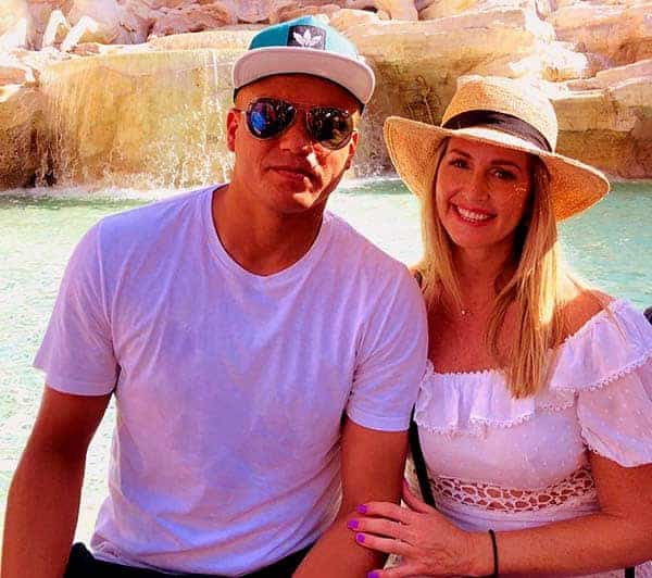 Image of Leanne Brown with her husband Wes Brown