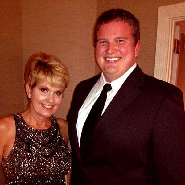 Image of Lori Allen with her son Cory