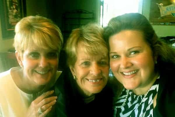 Image of Lori Allen with mother Carroll (center) and daugther Mollie Allen (right)
