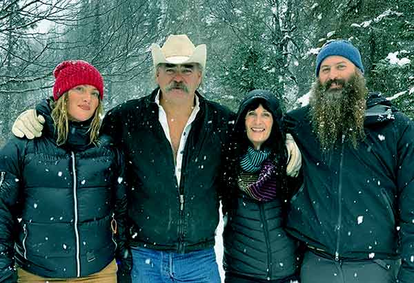 Image of Misty Raney Bilodeau with her family