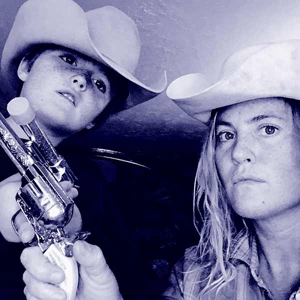 Image of Misty Raney Bilodeau with her son Gauge