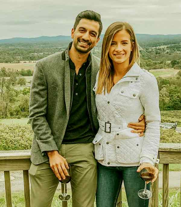 Image of Naomie Olindo with her boyfriend Metul Shah