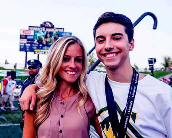 Image of Nicole Curtis with her son Ethan