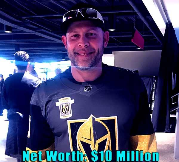 Image of American designer, Paul Teutul Jr net worth is $10 million
