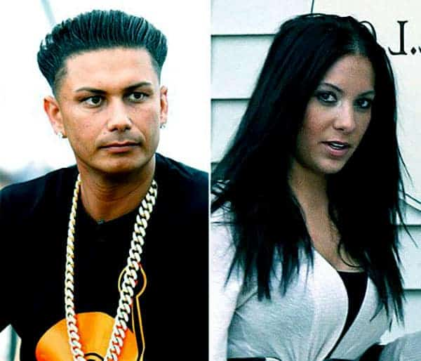 Image of Pauly D and Amanda Markert