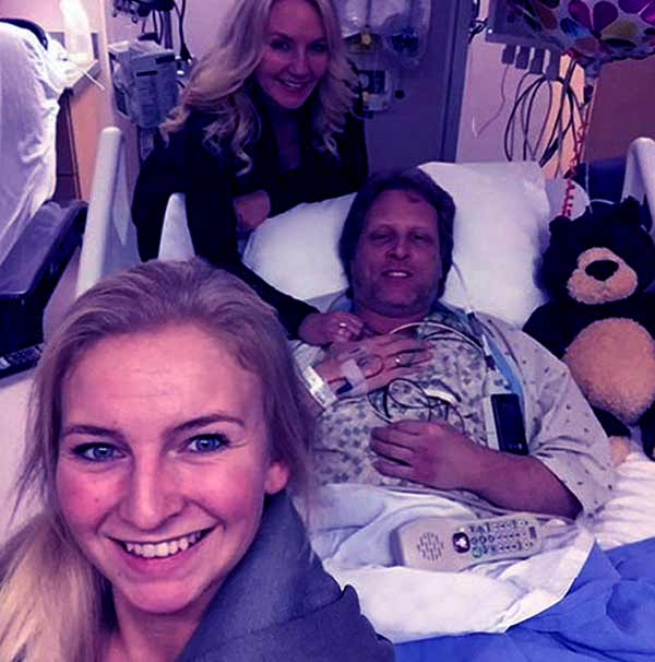 Image of Sig Hansen hospitalized due to heart attack