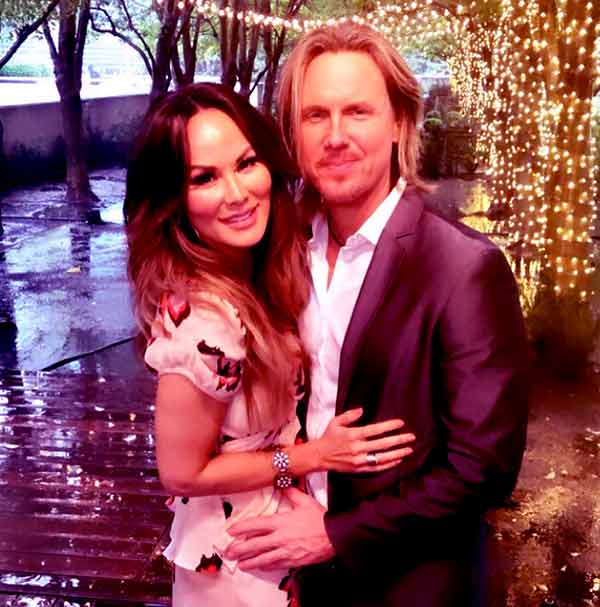 Image of Tiffany Hendra with her husband Aaron Hendra