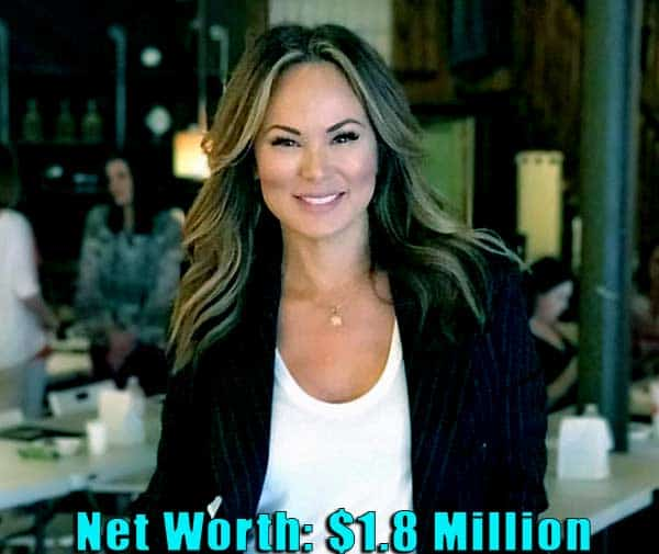 Image of American actress, Tiffany Hendra net worth is $1.8 million