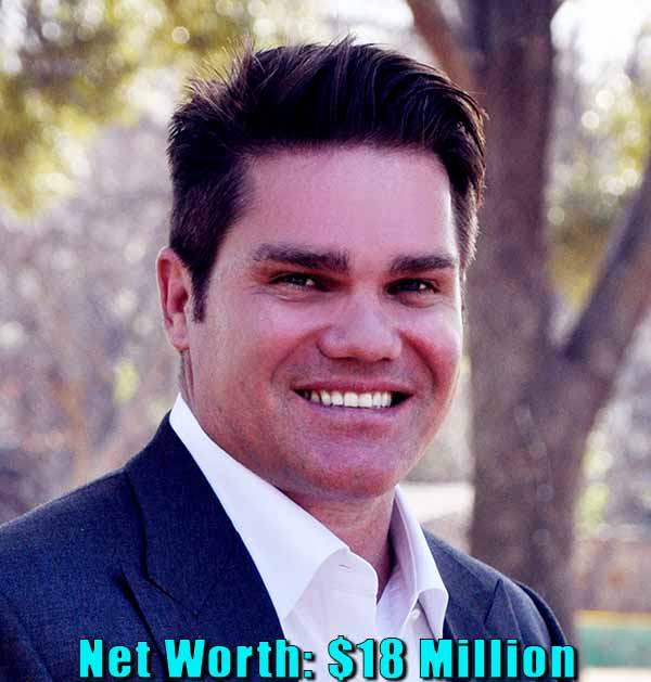 Image of Businessman, Travis Hollman net worth is $18 million
