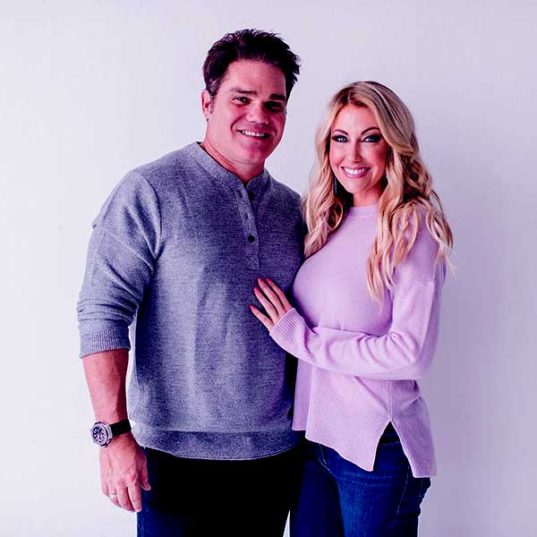 Image of Travis Hollman with his wife Stephanie Hollman