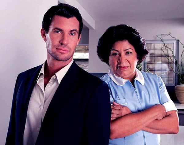 Image of Jeff Lewis with his former maid Zoila Chavez
