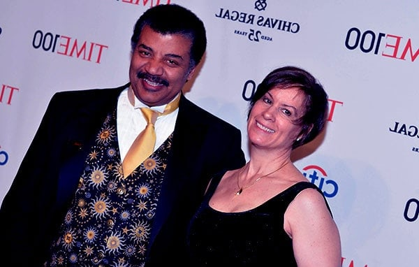 Image of Alice Young with her husband Neil Degrasse Tyson