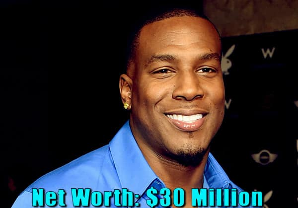 Image of American football tight end, Antonio Gates net worth is $30 million