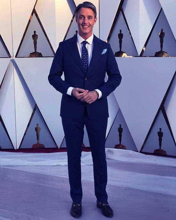 Image of Ben Mulroney height is 6 feet 1 inch