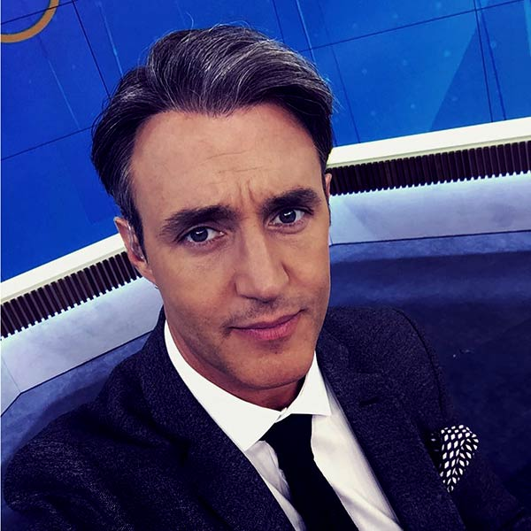 Image of Canadian television host, Ben Mulroney