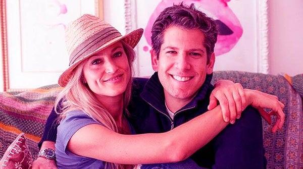 Image of Cassandra Marino with her husband Michael Marino.