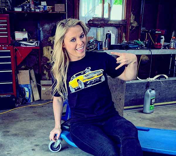 Image of Cristy Lee from the TV show, All Girls Garage