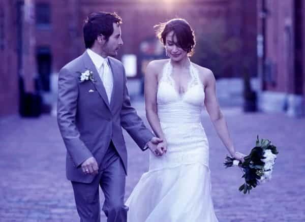 Image of Cynthia Loyst with her husband Jason Loyst