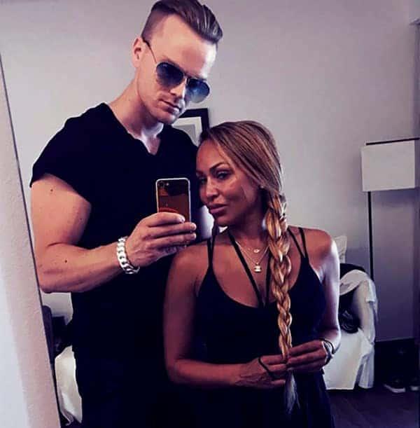 Image of Darcey Silva with her ex boyfriend Jesse Meester
