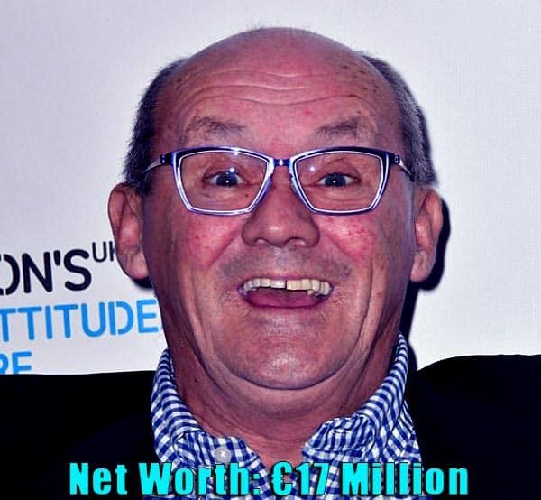 Image of Doreen Dowdall ex-husband Brendan O'Carroll net worth is €17 million.
