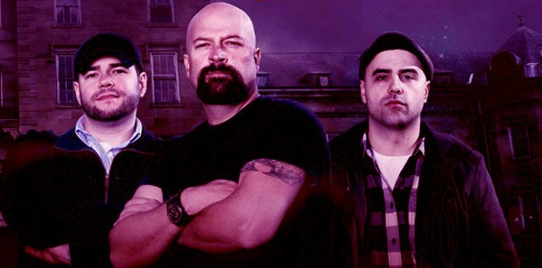 Image of Ghost Hunters former stars Steve Gonsalves, Dave Tango, and Jason Hawes with their new show Ghost Nation