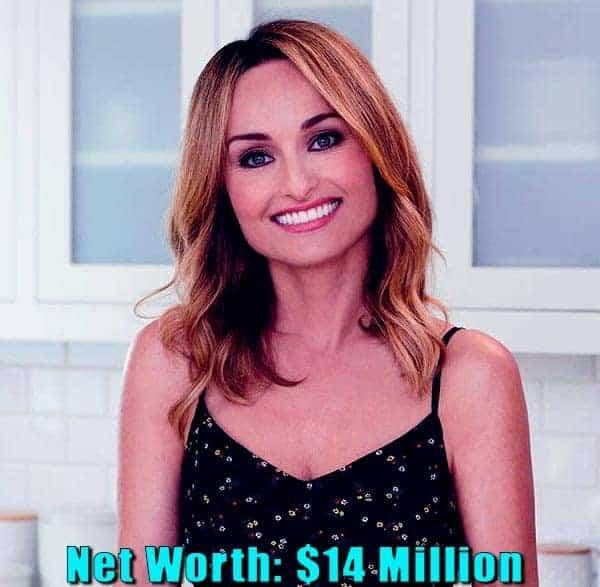 Image of Celebrity Chef, Giada De Laurentiis net worth is $14 million