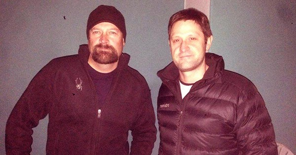 Image of Grant Wilson and Jason Hawes Feud from the TV show, Ghost Hunters