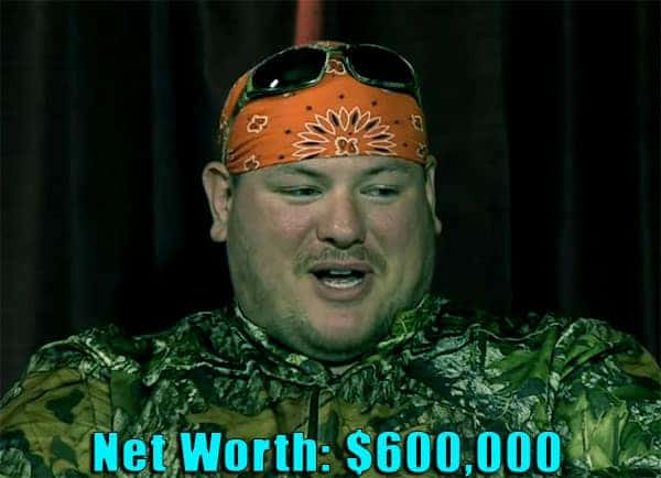 Image of Mountain Monsters cast Jacob 'Buck' Lowe net worth is $600,000