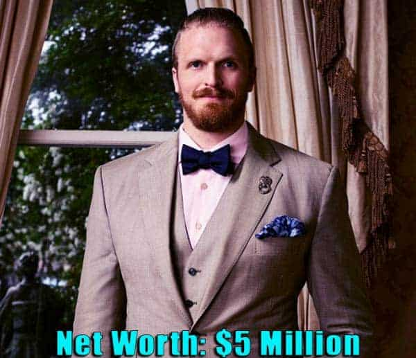 Image of American football player, Jeff Charleston net worth is $5 million