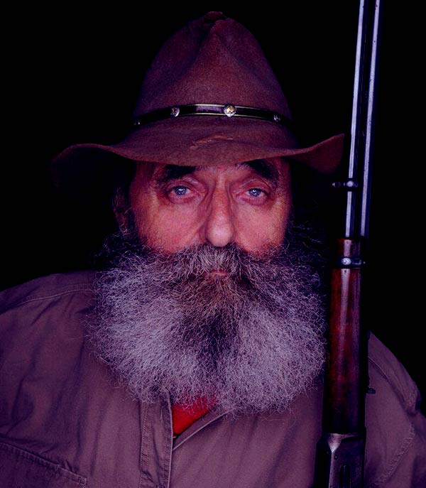 Image of John Tice from the TV reality show, Mountain Monsters