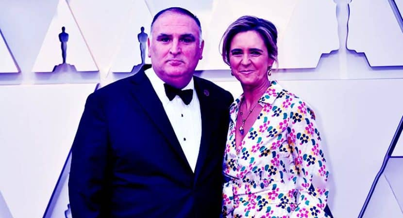 Image of José Andrés Net Worth. Meet His Wife Patrica Andres.