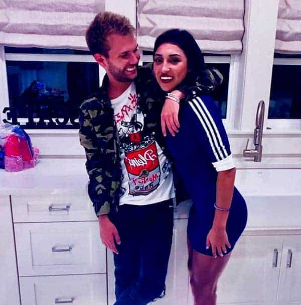 Image of Kayla Puzas with her boyfriend Chase Chrisley