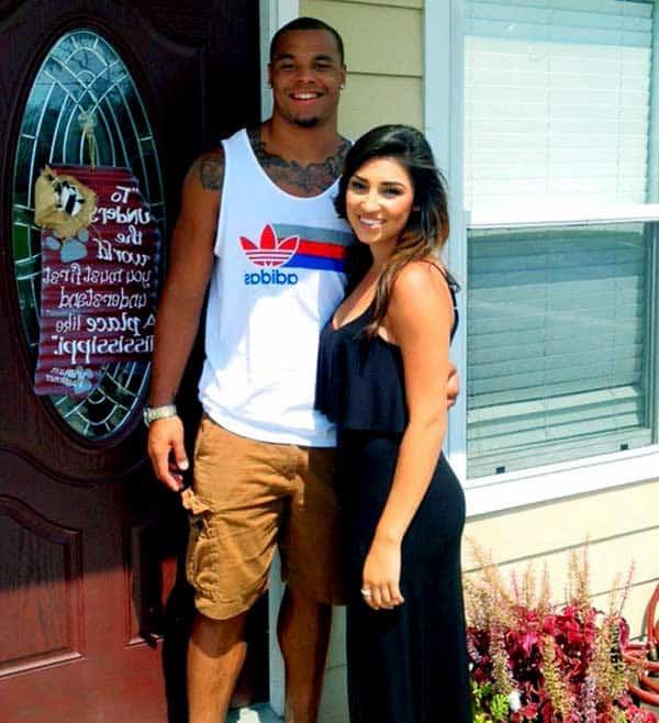 Image of Kayla Puzas with her ex-boyfriend Dak Prescott
