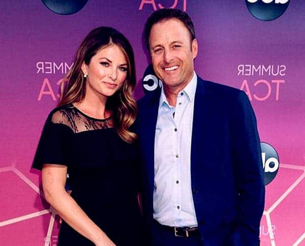 Image of Lauren Zima with his boyfriend Chris Harrison
